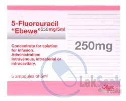 Opakowanie 5-Fluorouracil-Ebewe